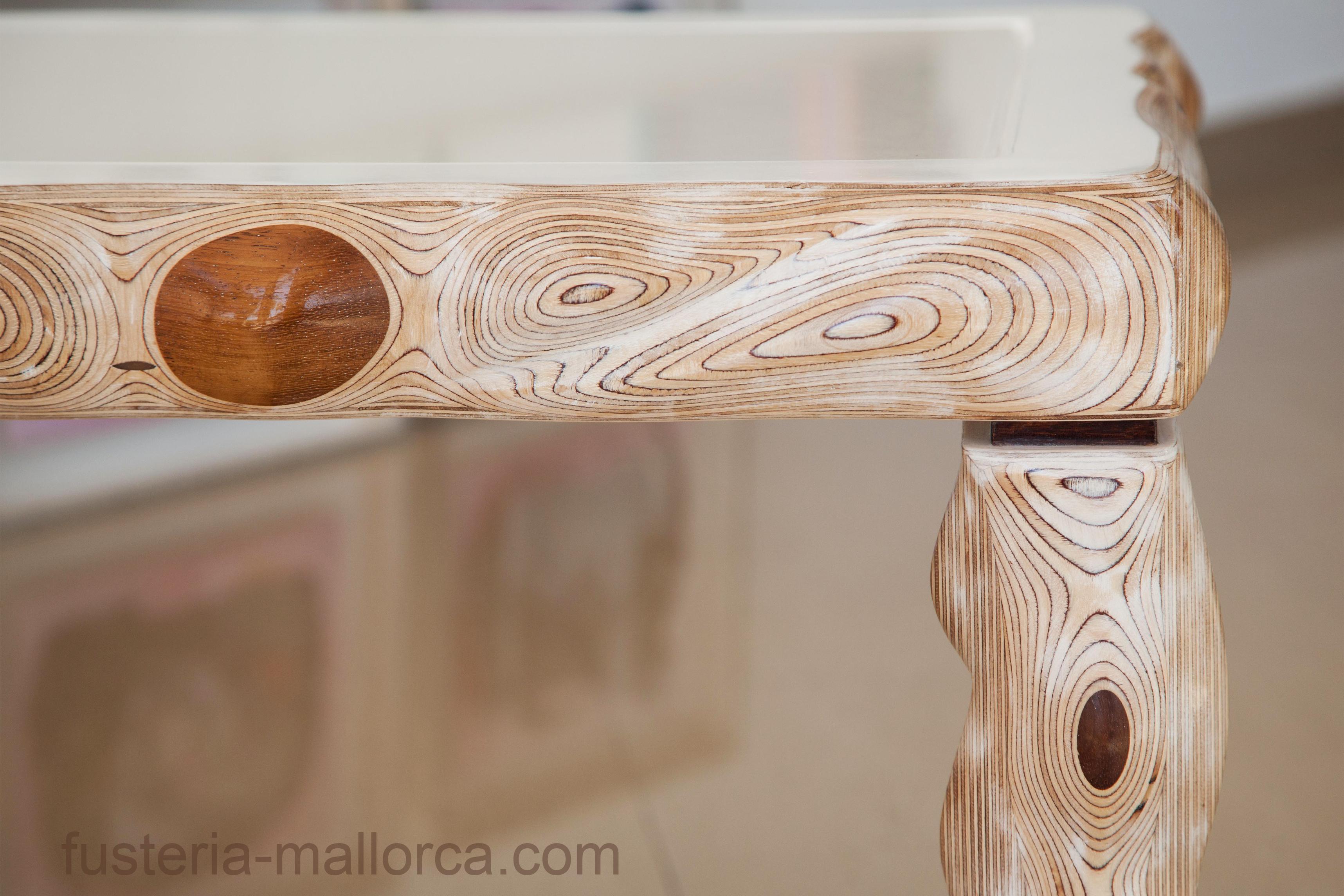#wood #art #design #holz #kunst #design #madera #arte #table #used #stoneandwood #tisch #mesa